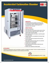 Accelerated Carbonation Chamber