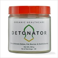 Detox Fat Burner And Multivitamin Powder