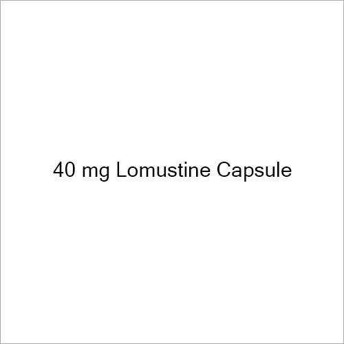 40 mg Lomustine Capsule