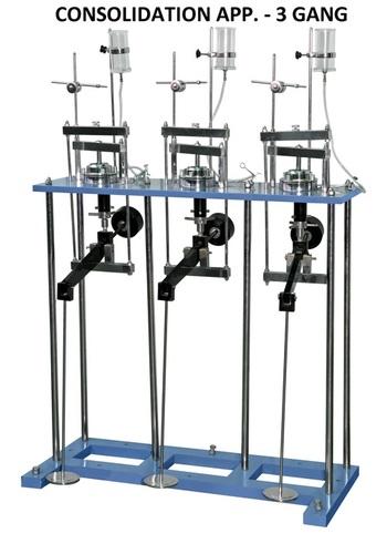 Consolidation Apparatus-Three Gang