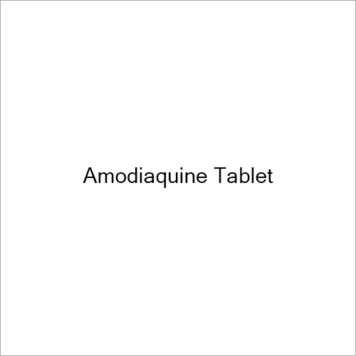 Amodiaquine Tablet