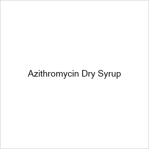 Azithromycin Dry Syrup