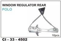 Window  Regulator Rear Polo