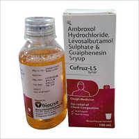 Ambroxol Hydrochloride Levosalbutamol Sulphate And Guaiphenesin Syrup