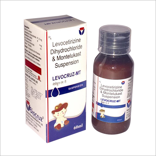 Levocetirizine Dihydrochloride And Montelukast Suspension