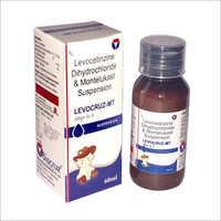 Levocetirizine Dihydrochloride And Montelukast Suspension
