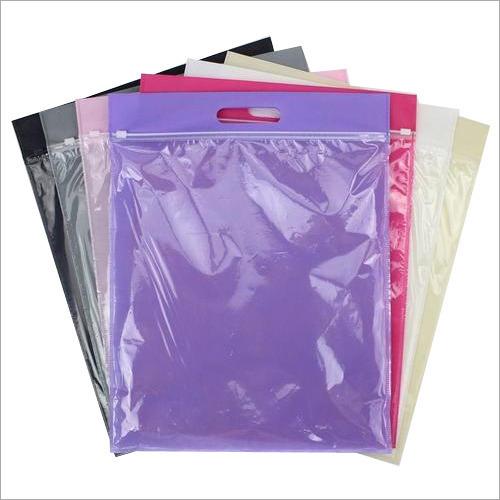 Zipper Non Woven D Cut Bag