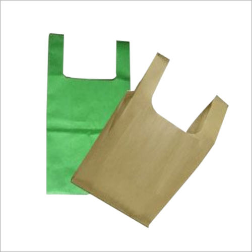 Colored U Cut Non Woven Bag