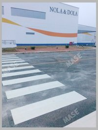Thermoplastic Road Marking paint Service