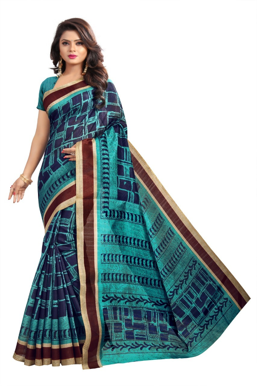 New designer bhagalpuri saree