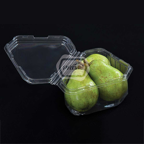 Clamshell Pear Packaging Punnet