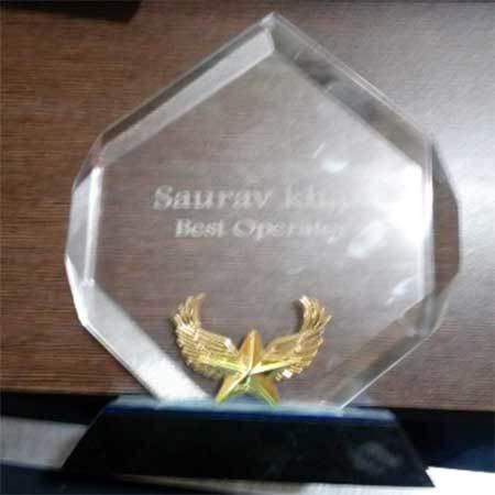 Laser Engraved Trophy