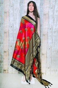 new khadi dupatta with fancy design