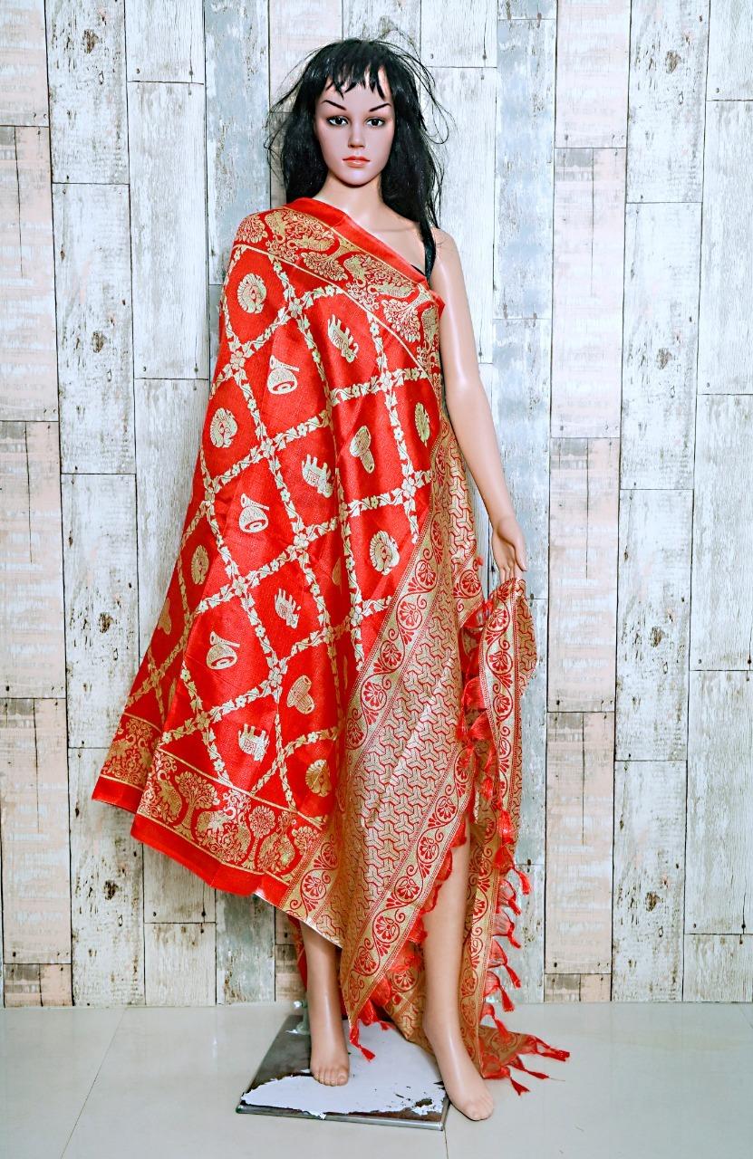 New Fancy Designs Cotton Blend Dupatta