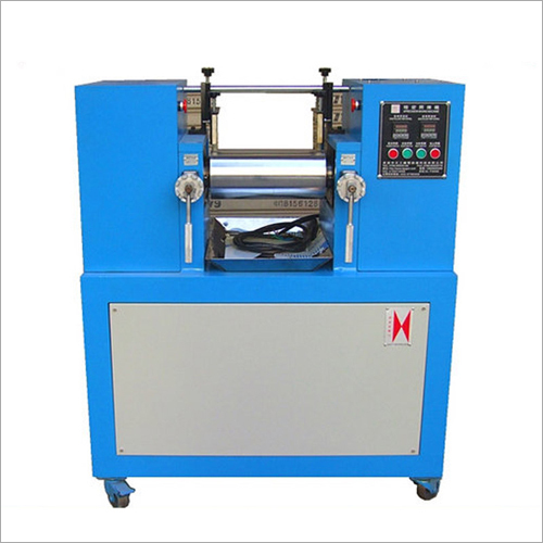 2 Roll Laboratory Rubber Mixing Mill Machine