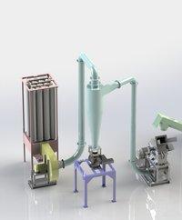 Masala grinding system