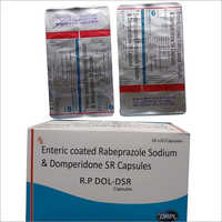 Enteric Coated Rabeprazole Sodium and Domperidone SR Capsule