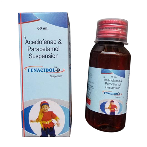 Aceclofenac and Paracetamol Suspension