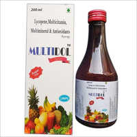Lycopene, Multicitamin Multimineral and Antioxidants Syrup