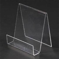 Acrylic Visiting Card and Folder Stand