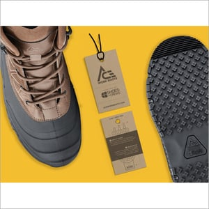 Branded Shoes Hang Tag