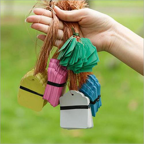 Multicolor Garment Hang Tag