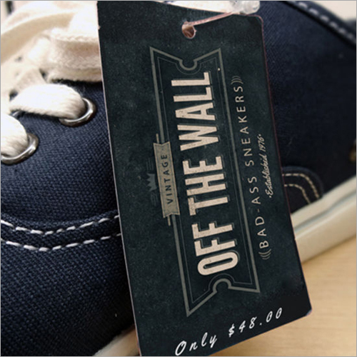 Customized Shoe Hang Tag