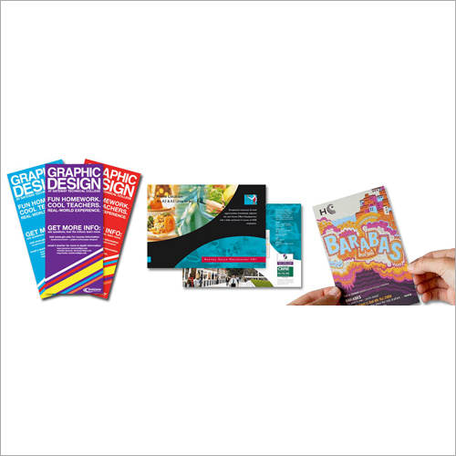 Paper Brochure Printing Service