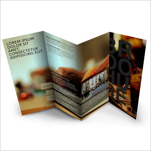 Advertising Brochure Binding Service