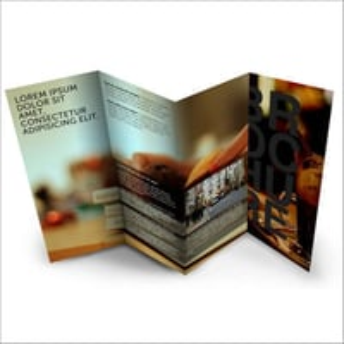 Advertising Brochure Binding Service