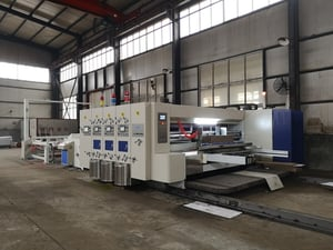 Automatic Flexo Printer Slotter die Cutter with Stacker