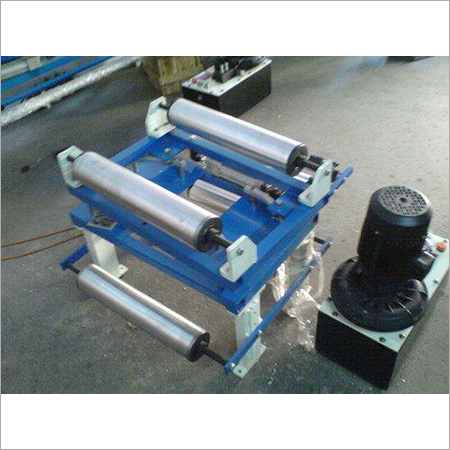 Tracking Roller Assembly With Web Guiding System