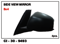 Side View Mirror(Orvm) Es X-4 Lh