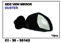 Side View Mirror Duster Lh