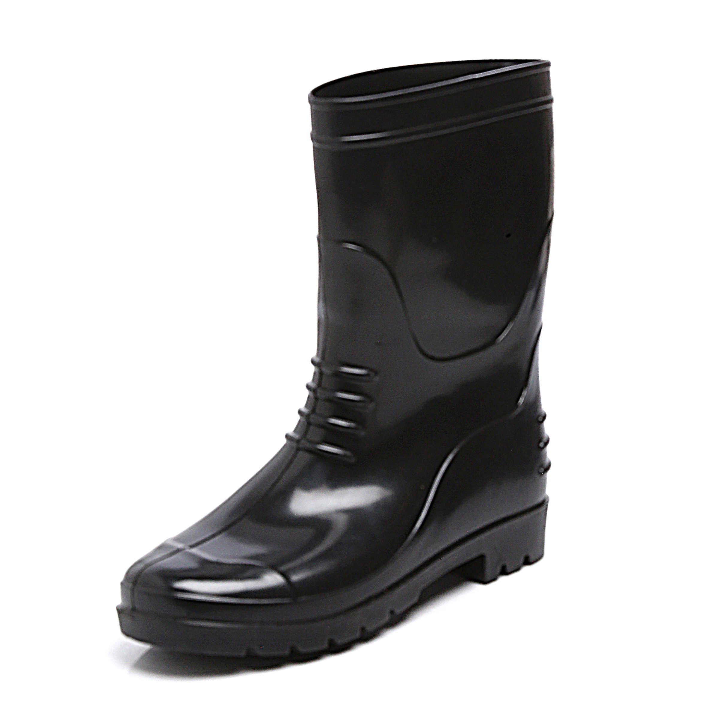 Male Black Safety Gumboots