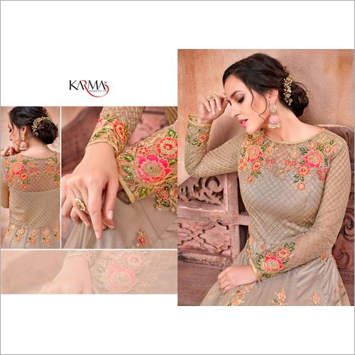 Stitched Designer Anarkali Suit