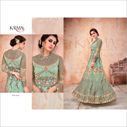 Ladies Floor Length Salwar Suit