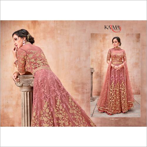 Partywear Ladies Anarkali Salwar Suits