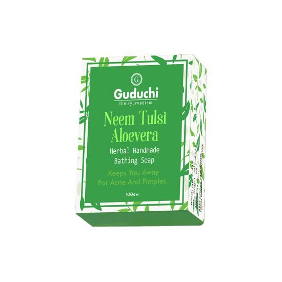 Neem Tulsi Aloevera Herbal Handmade Soap