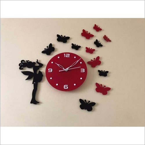 Decorative Wooden Wall Clock