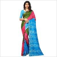 New Festive Wear pure cotton saree