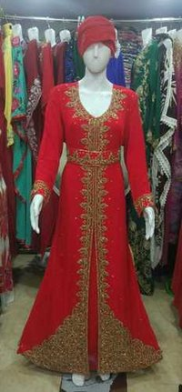 Woman Morocco Gown