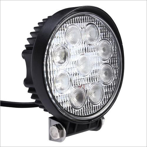 Fog Lamp Round 9 LED 27W (9V-24V)