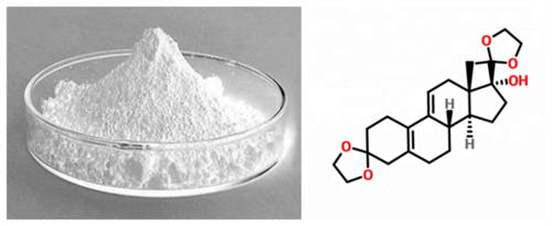 3,3,20,20-Bis(ehtylene-dioxy)-17a-hydroxy-19-norpregna-5(10),9(11)-diene CAS No.54201-84-2