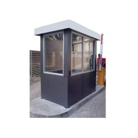 Steel Toll Booth Cabin