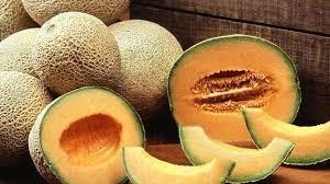Frozen Musk Melon Slice