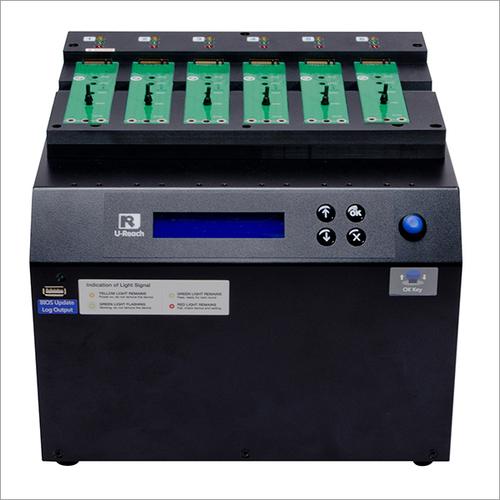 1-5 PCIe SSD (M2/U2) Duplicator and Sanitizer-PE600