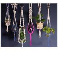 Macrame Braided Plant Hangers