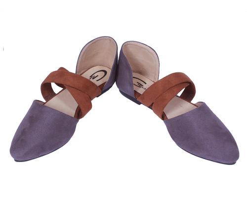 Ladies Trendy Slip On Mule Loafers