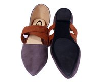 Ladies Trendy Slip On Mule Loafers